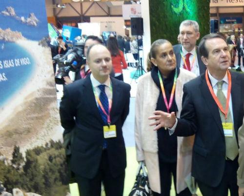 #CiesParaElMundo, vigoalminuto en Fitur con la candidatura de las Cíes a Patrimonio de la Humanidad
