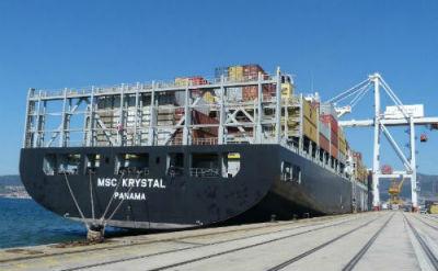 O Porto de Vigo pechou 2014 cun descenso do 2,3% en tráfico de mercadorías