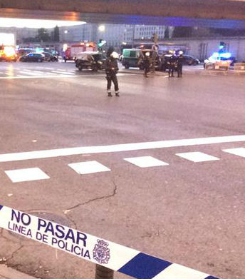 Ordenan desalojar la estación de metro de Nuevos Ministerios en Madrid, por un posible explosivo