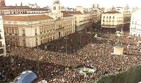 #EsAhora31E, Madrid se pone morada