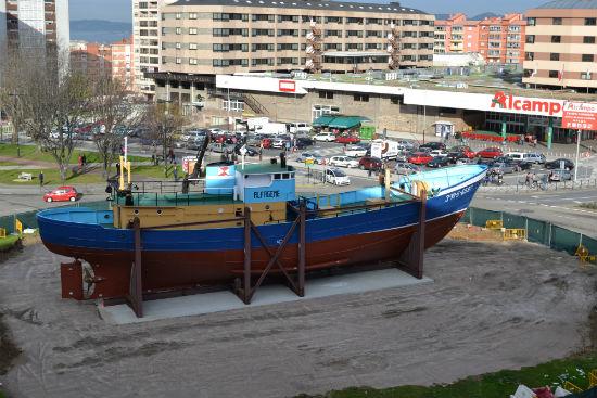 """Caballero sobre la vigilancia del 'Bernardo Alfageme, """"¡hay un barco precioso, el más bonito del mundo!"""""""