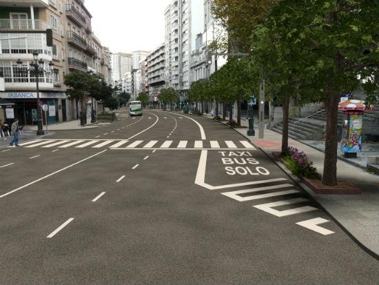 Parte de Rosalía de Castro y de María Berdiales cerradas al tráfico 2 y 4 meses, respectivamente