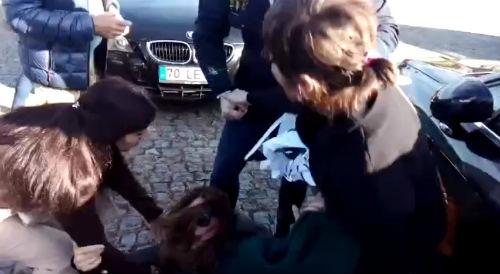 A policía portuguesa agrede a unha concelelira de Salvaterra, que acabou en Urxencias
