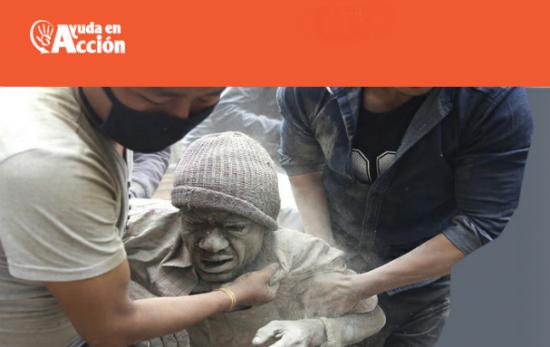 Ahora puedes echar una mano a Ayuda en Acción para colaborar con la población de Nepal