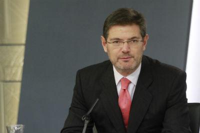 El ministro de Justicia Rafael Catalá