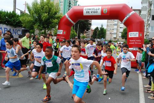 Salida de una de las pruebas de la Maratón de Coia, este domingo/Tresyuno Comunicación