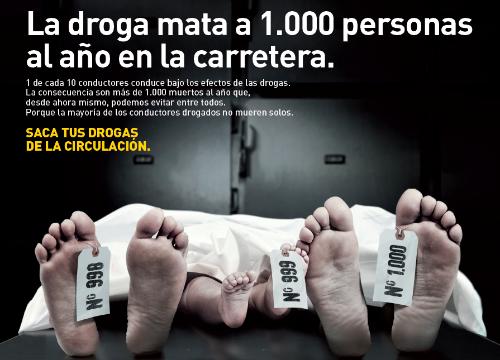 Tráfico inicia este lunes, en Galicia, una campaña de control de consumo de alcohol y drogas al volante