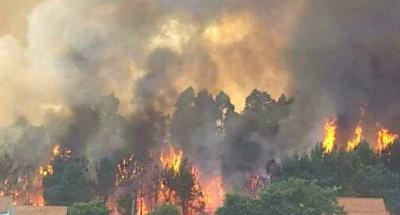 Apagado o incendio de Teo mentres Galicia está en risco extremo e Ourense e Lugo en alerta amarela por altas temperaturas