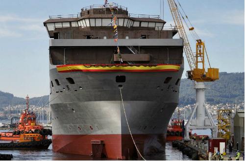 Barreras bota el 'Reforma Pemex' un flotel de 131 metros de eslora diseñado íntegramente en Vigo