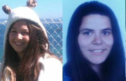 Alba Sampedro, de 14 años, y Sarai Folgar/Fotos: loqueyotedigo.wordpress.com