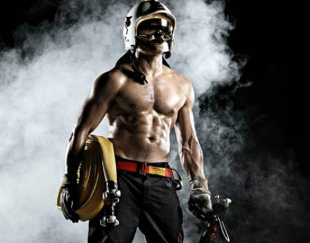 El calendario de los bomberos de vigo de 2016 a beneficio for Sala rouge vigo