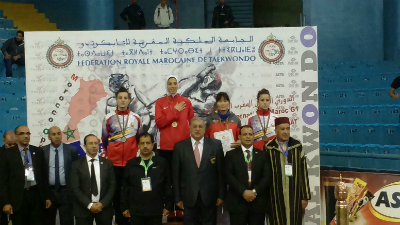 Lúa Piñeiro e Katya Calvar, prata e bronce no internacional de taekwondo de Marrocos