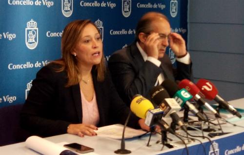 Elena Muñoz y Chema Figueroa, este martes/Tresyuno Comunicación