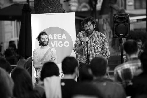 Rubén Pérez, voceiro de A Marea de Vigo/Foto: Felipe Carnotto