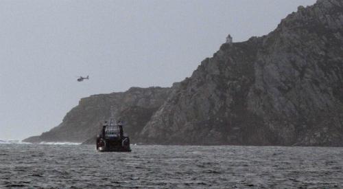 Dispositivo de rescate del 'Látigo' en Cíes