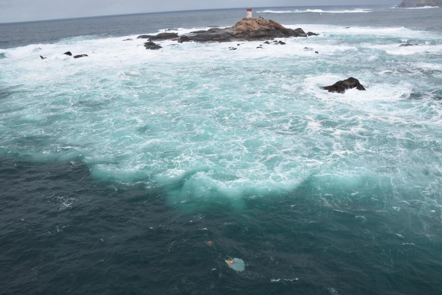 @salvamentogob suspende hasta este lunes la búsqueda de los dos marineros desaparecidos en Cíes