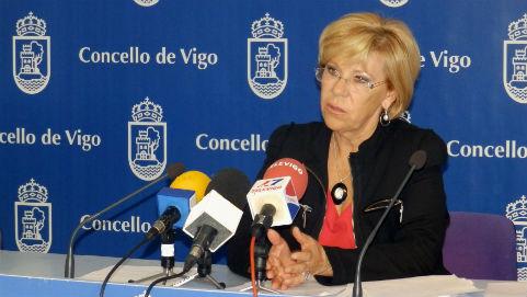 Isaura Abelairas niega que las ayudas sociales del Concello sean incompatibles con la Risga/Fotografía: vigoalminuto.com