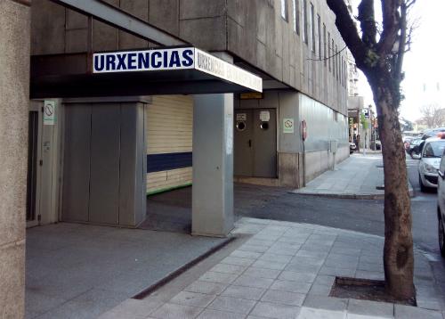 Empiezan a funcionar en la parte baja del Xeral, entrando por Pizarro, las Urgencias Extrahospitalarias de Vigo