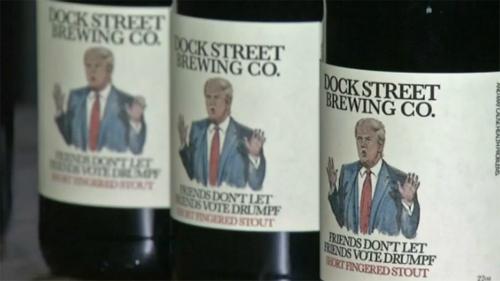 EEUU ya tiene su cerveza 'anti-Trump'