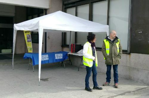 Vigo recoge material y alimentos para los refugiados