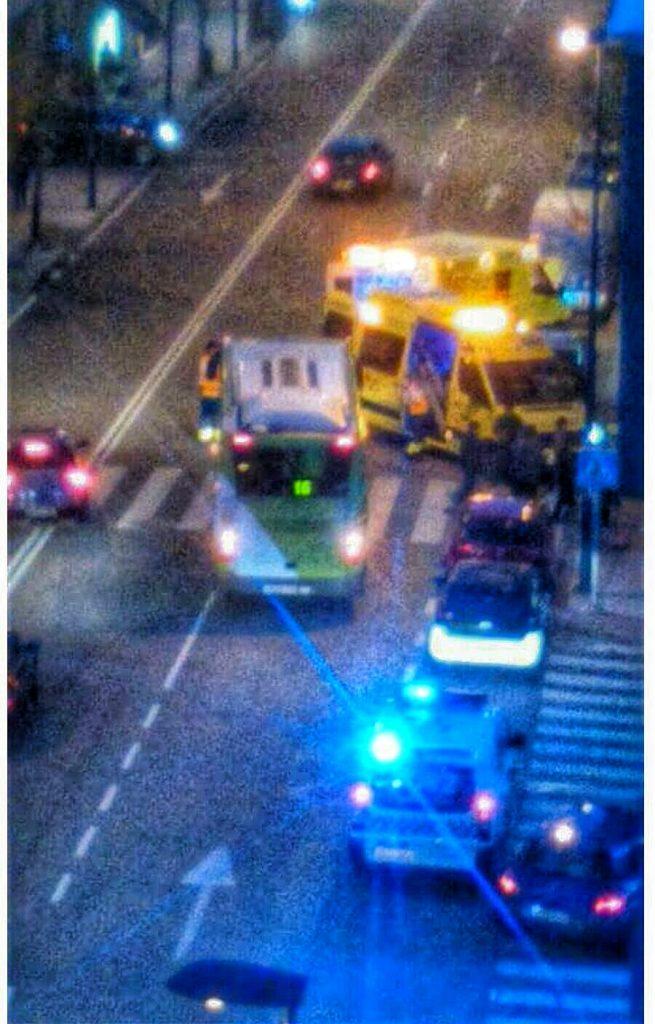 Herido al ser atropellado por un autobús en Fragoso