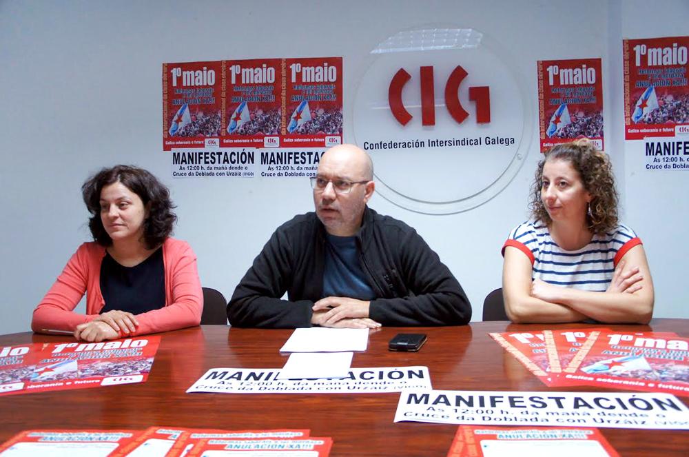 Vigo acollerá a manifestación central da CIG do 1º de Maio