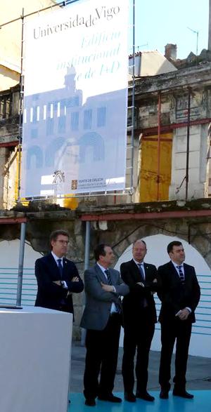 A Universide de Vigo terá a súa sede institucional no Berbés en 2018
