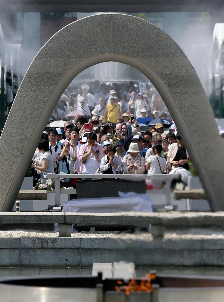 Visita histórica de Obama a Hiroshima
