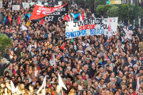 Este 1 de junio, nueva protesta de la sanidad viguesa