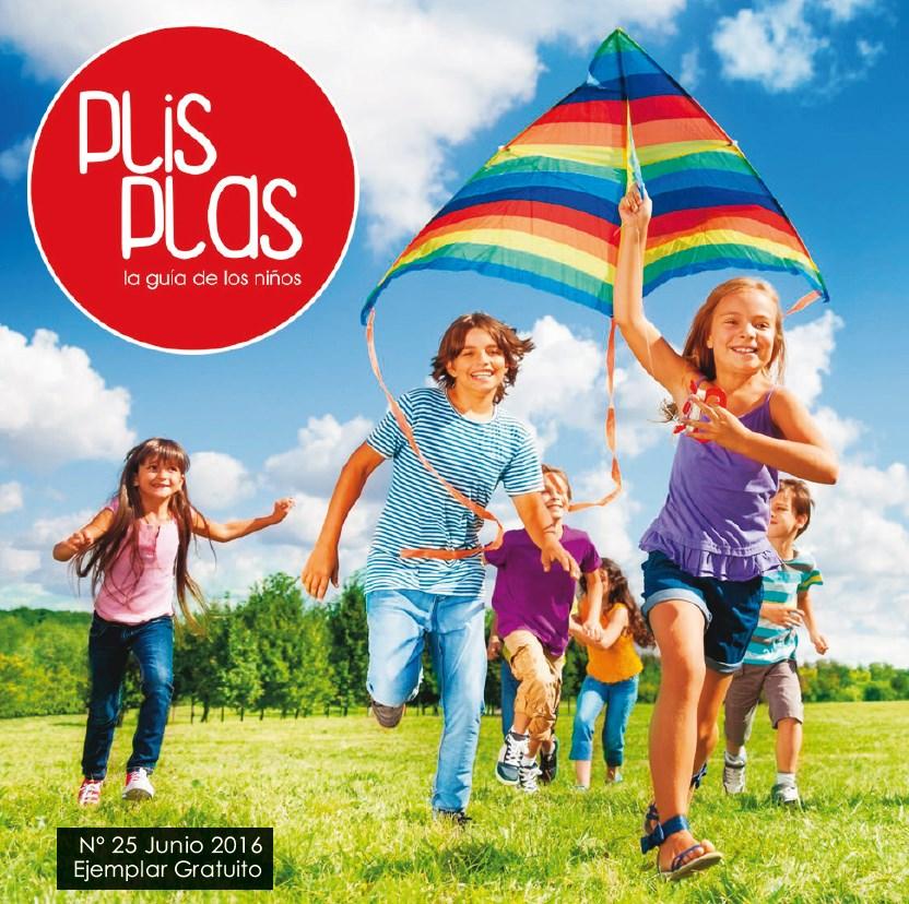 Todo sobre campamentos de verano y mucho más en el número de junio de la guía Plis Plas