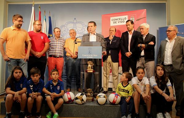 Más de 3.400 niños disputan la XVI Vigo Cup