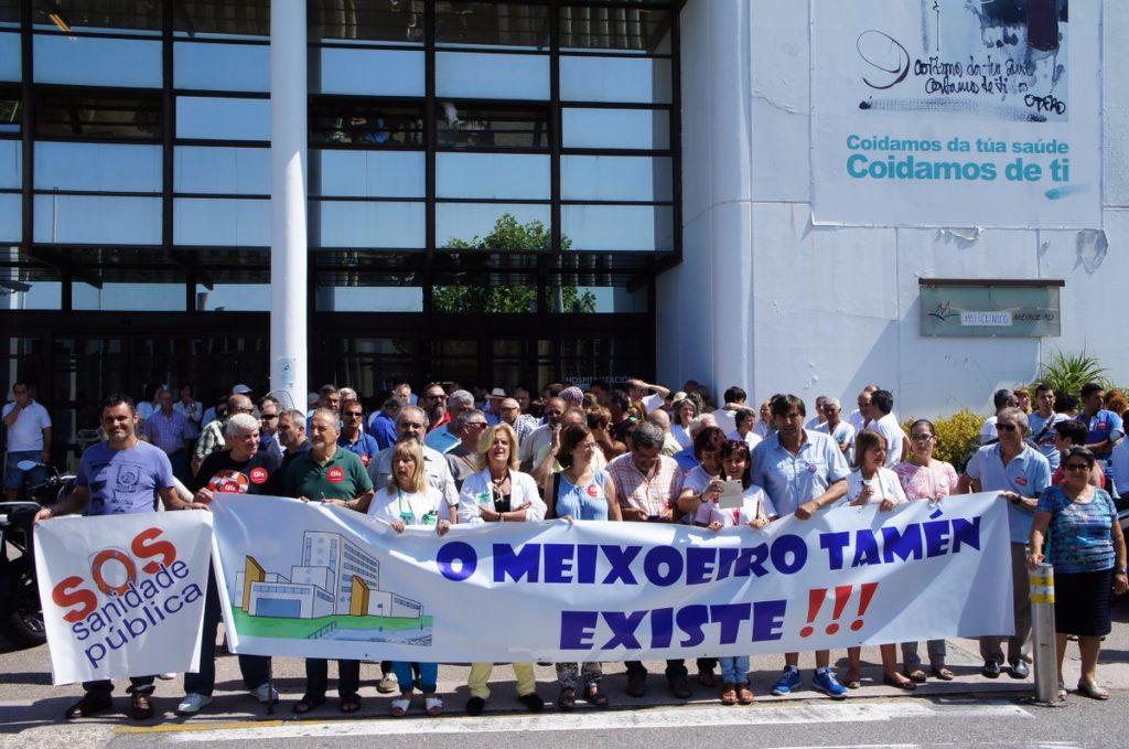 @SOSMeixoeiro, SOS Sanidade Pública e persoal retoman as concentracións en defensa do hospital
