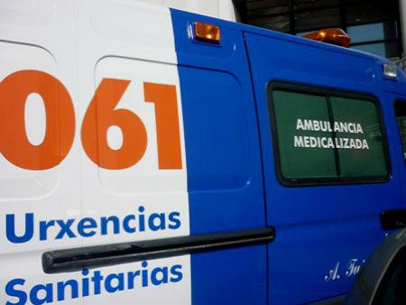 Muere un motorista tras sufrir un accidente en O Porriño