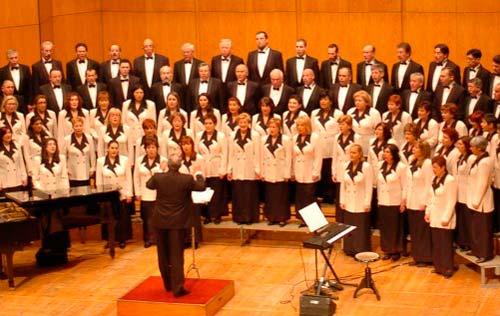 La Coral Casablanca cierra los conciertos en Castrelos con un homenaje al romanticismo