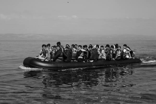 El éxodo de los refugiados en 32 imágenes