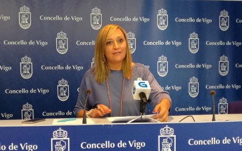 La portavoz municipal del Partido Popular, Elena Muñoz