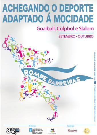 A asociación Achega rompe barreiras sobre o deporte adaptado en Vigo