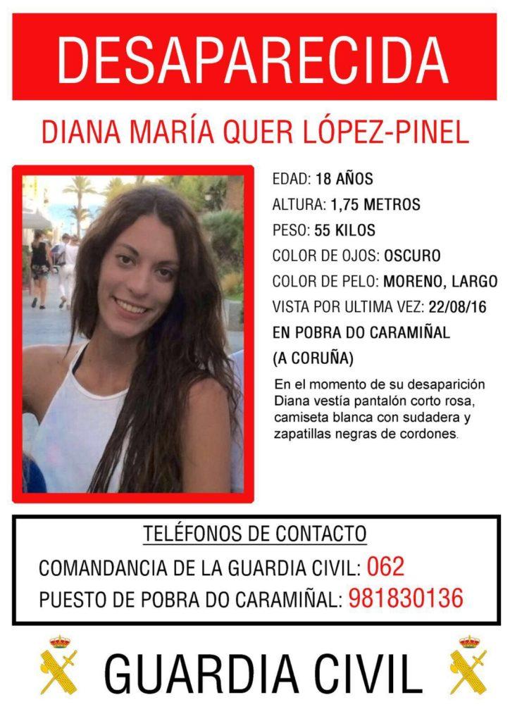 Algunos testigos sitúan a Diana Quer en Lugo