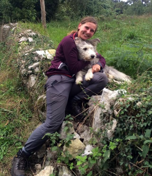Anouk ya puede volver a Alemania con Martina, desaparecida hace 15 días mientras hacían el Camino de Santiago