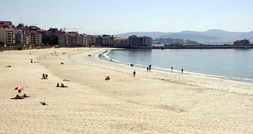 sanxenxo playa silgar