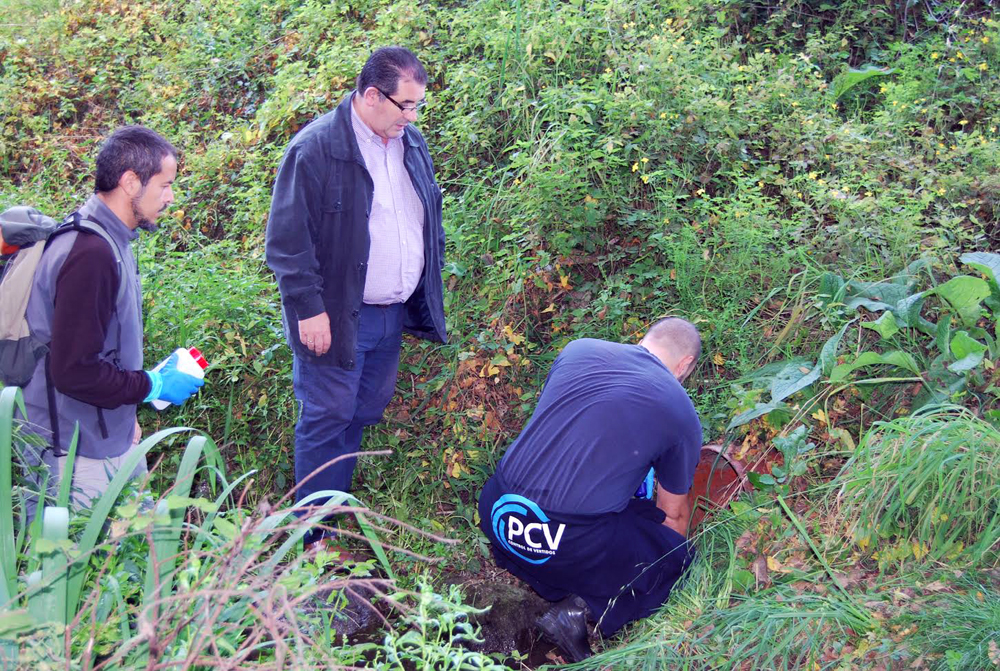 Redondela empieza la eliminación de vertidos en los ríos Pugariño y Cidadelle