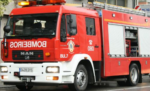 Incendio en una vivienda de Vigo por una sobrecarga eléctrica en unos radiadores