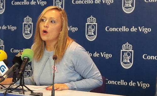 Elena Muñoz portavoz del PP en el Concello de Vigo/Foto:vigoalminuto.com