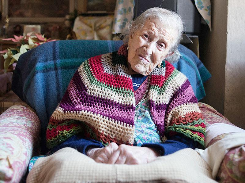 Tres huevos diarios, el secreto de los 117 años de Emma Morano, la mujer más anciana del mundo