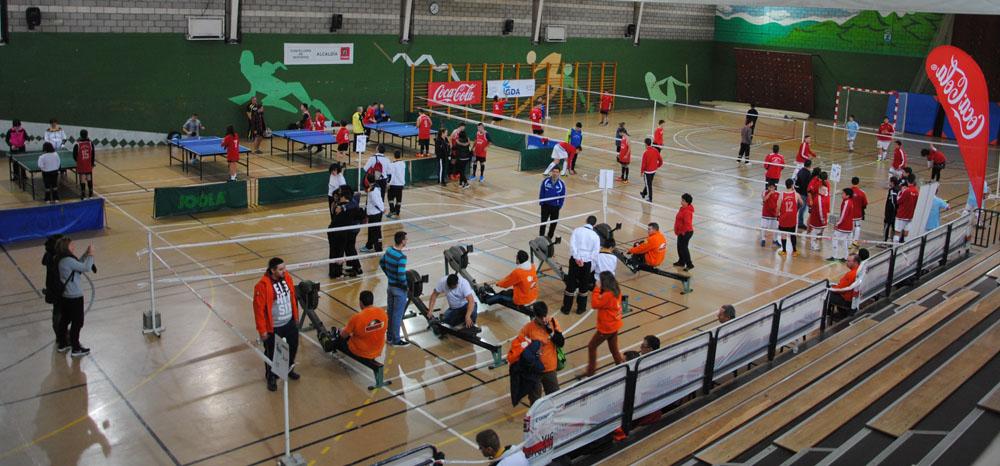 Más de 600 deportistas celebraron en As Travesas el Día Internacional de las Personas con Discapacidad