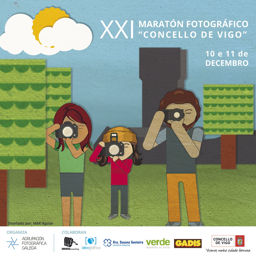 Maratón de fotografías para retratar Vigo