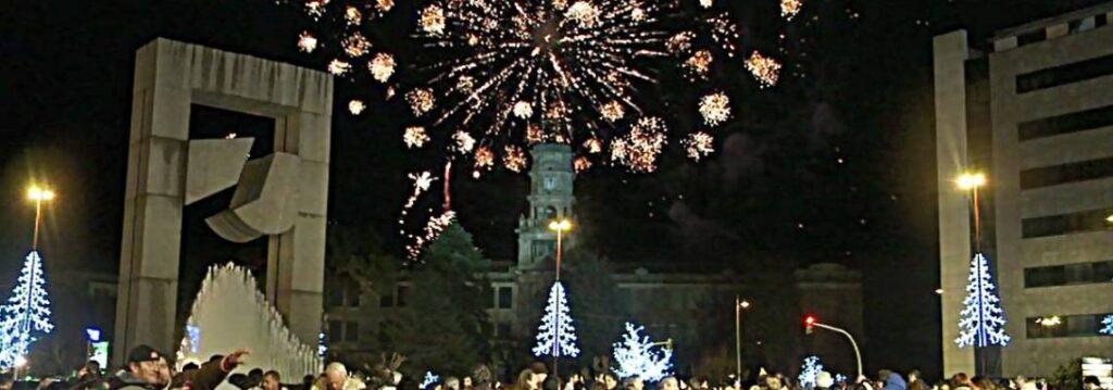 Ojo! Praza de América cortada para celebrar la fiesta de Fin de Año