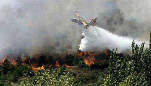 Investigan al presunto autor de un incendio forestal en A Cañiza