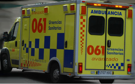 Un hombre de 64 años pierde la vida en un accidente de tráfico en Bande