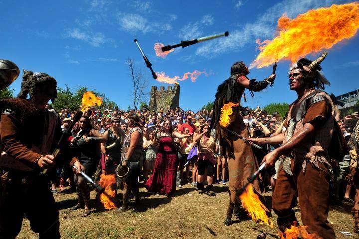 Troula de Vigo acudirá al Jorvik Viking Festival , en York, una de las mayores fiestas vikingas de Europa